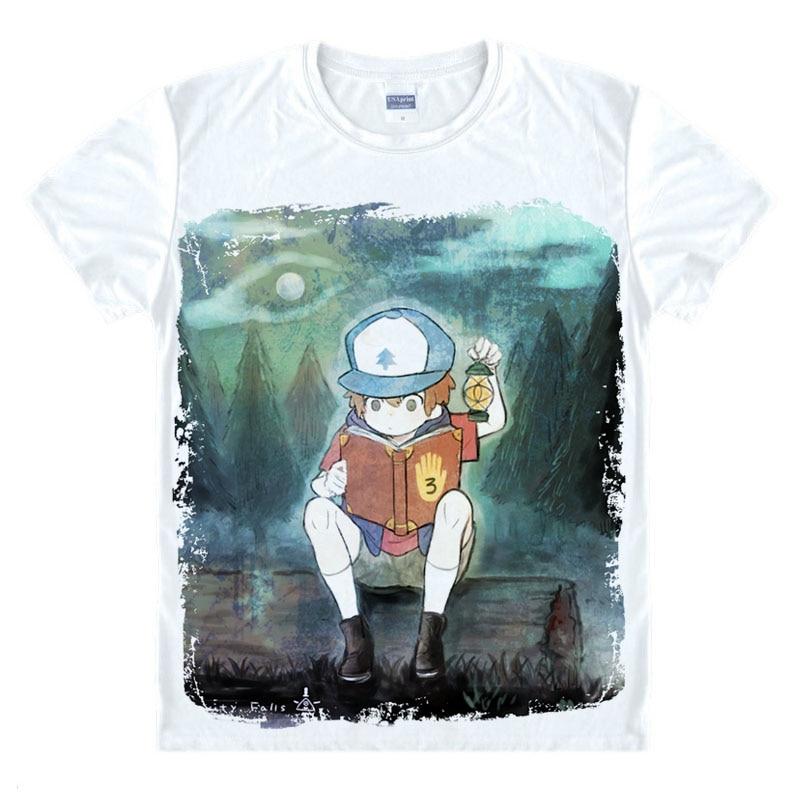гравити фолз футболки купить в Китае