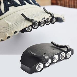 Image 2 - 新ミニポータブル安全キャップライト作業用安全ヘルメットキャップアクセサリー釣り作業読書ハイキングライト