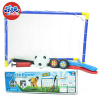 NEW 2 In 1 Sports Hockey Football Soccer Multi Sports Goal Net Set Pump Indoor Outdooor