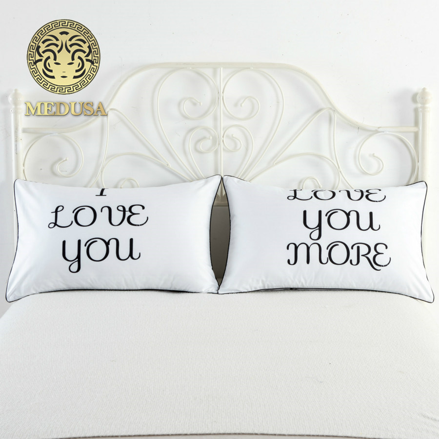 Wedding Anniversary Gift For Friends: I Love You And More Wedding Anniversary Pillow Cases,gift