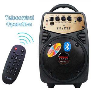 Image 4 - Alto falante portátil sem fios, alto falante de alta potência com bluetooth, amplificador para microfone, bateria de lítio, suporte a cartão tf, usb, play, coluna