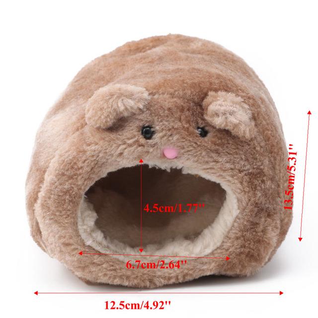 Plush Hammock For Pet Ferret Rat Hamster Parrot Squirrel Hanging Bed House Toys
