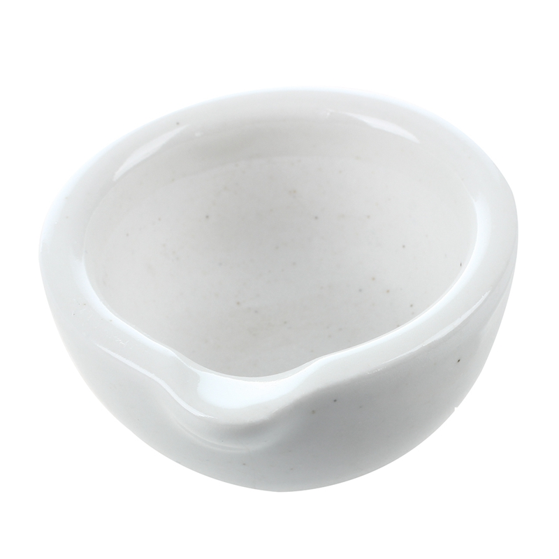 6 ml porcelain pestle and mortar mixing bowls polished game white in Mills from Home Garden