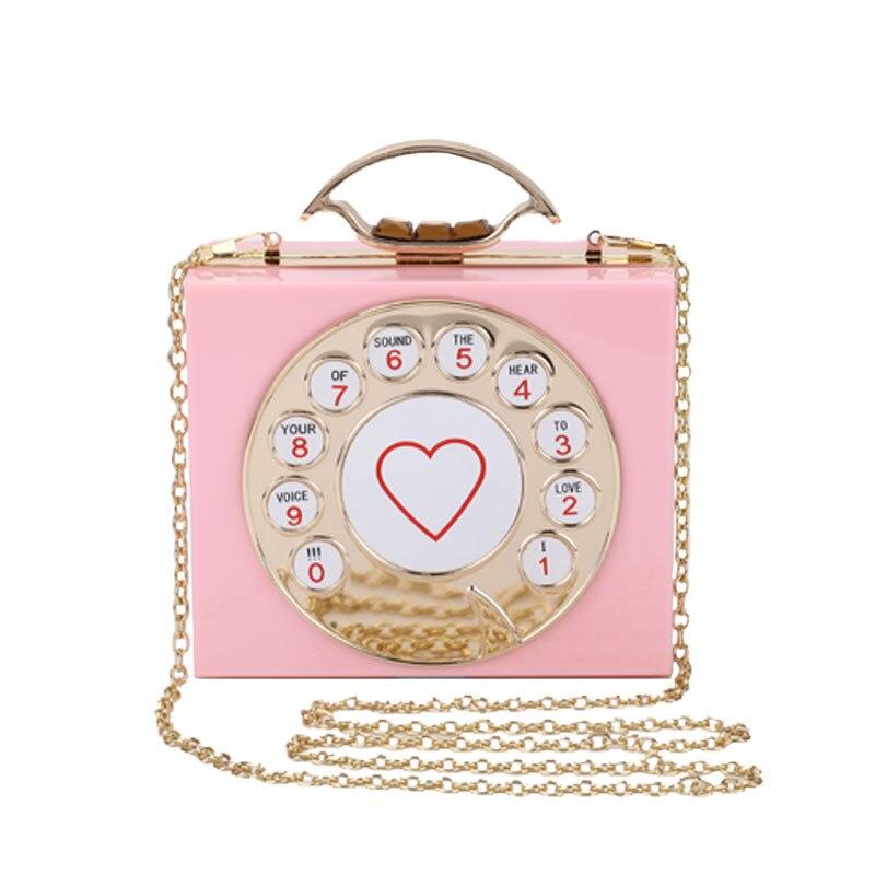 2017 new summer individuality mini fashion phone acrylic bag hand holding small square bag dinner ladies bag