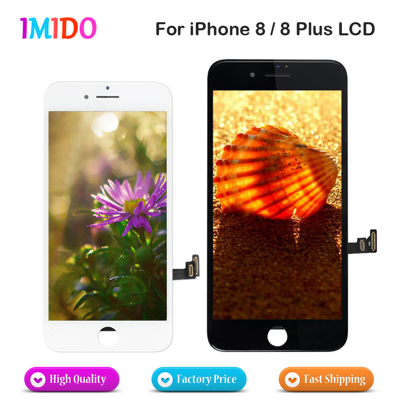 10Pcs Lot AAA LCD For iPhone 8 8 Plus OEM Display Touch Screen Digitizer Assembly No