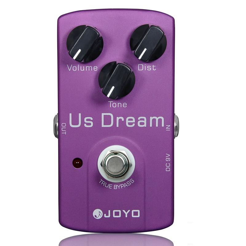 US Dream Distortion Guitar Effect Pedal Aluminum Alloy Body True Bypass Effects Pedals Guitar Accessories JOYO