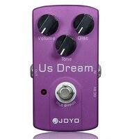 JOYO JF 34 US Dream Distortion Guitar Effect Pedal Aluminum Alloy Body True Bypass Effects Pedals Guitar Accessories
