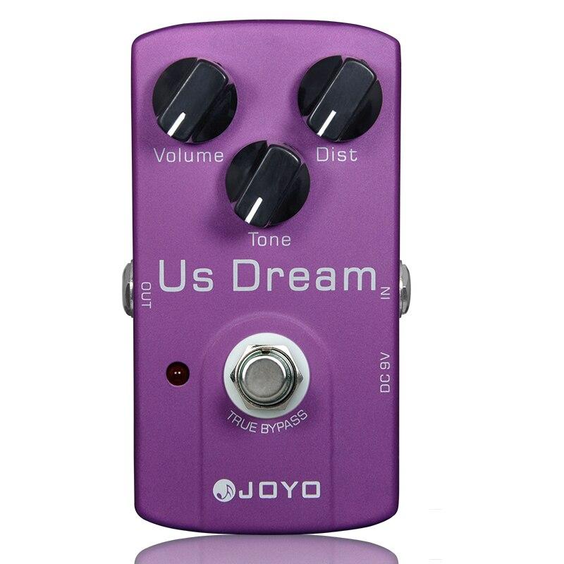 US Dream Distortion Guitar Effect Pedal Aluminum Alloy Body True Bypass Effects Pedals Guitar Accessories JOYO JF-34 Effects