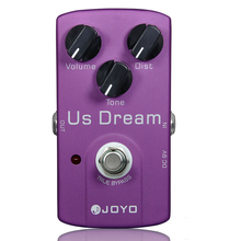 US Dream Distortion Guitar Effect Pedal Aluminum Alloy Body True Bypass Effects Pedals Guitar Accessories JOYO JF-34 Effects