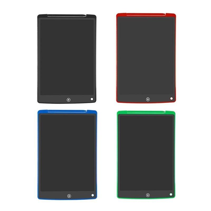 12 Polegada lcd escrita tablet digital desenho tablet almofadas de escrita portátil eletrônico tablet placa ultra-fina com caneta