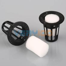 20Set Mesh Pot Net Basket+Clone Collar Foam Insert Hydroponic Aeroponic Plant