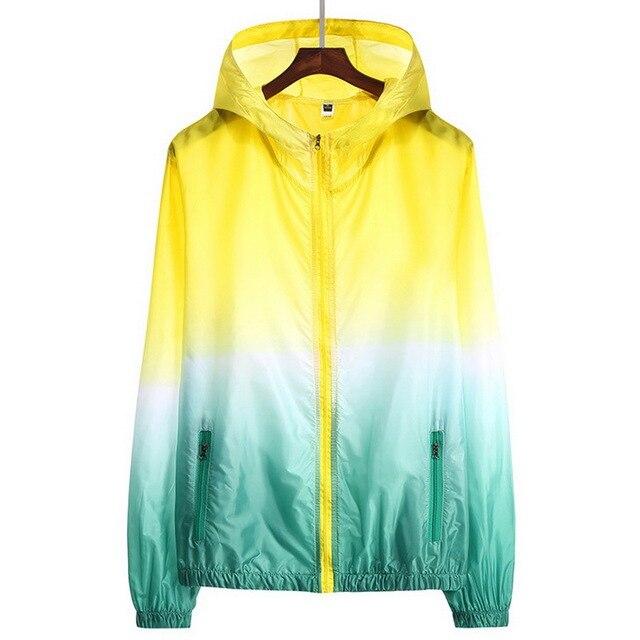 Sun Protective Ultra Thin Summer Windbreaker Jacket