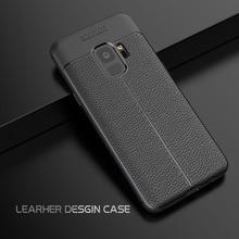 FGHGF Silicon Soft Case For Samsung Galaxy A8 Plus 2018 S9 Carbon Fiber Cover Smaung S6 S7 Edge S8 Note 8
