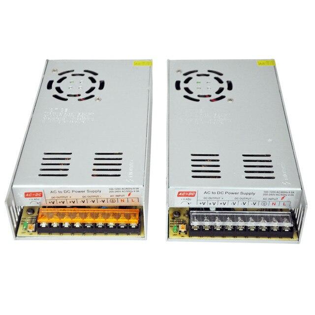 Led alimentazione elettrica di commutazione dc 5 v 60a 300 w trasformatore 110 v 220 v ac input per led display luce
