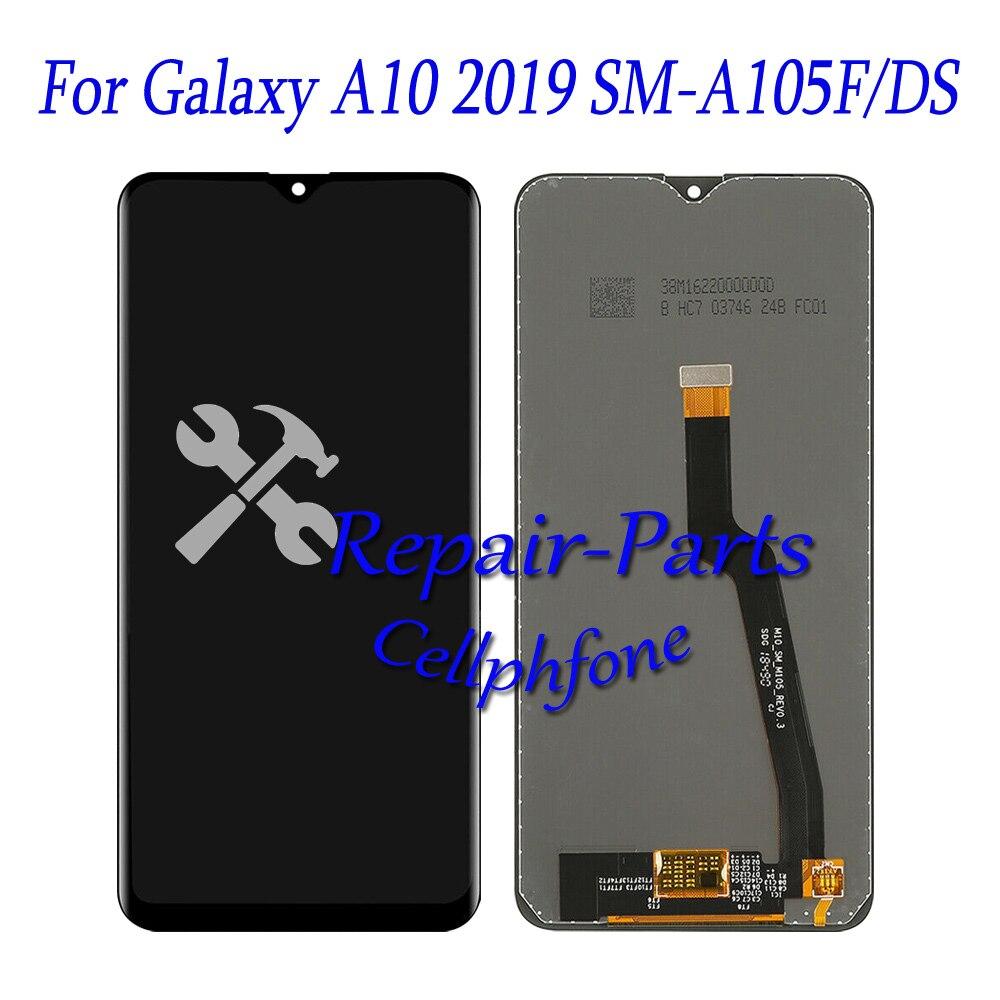 6.2 pouces nouveau noir plein écran LCD + écran tactile numériseur assemblée pour Samsung Galaxy A10 2019 SM-A105F/DS A105