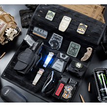 OneTigris Patches Display Board Cordura Nylon Foldable Patch Tactical Patches Holder Display Panel Folding Tool Organizer