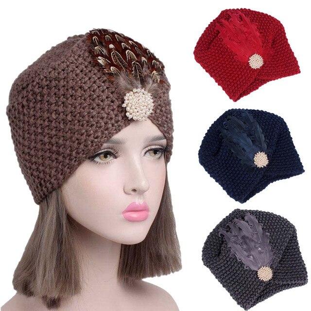 для женщин вязание рак шапка тюрбан голова девушка обёрточная бумага