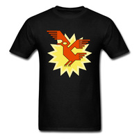 Fashion Novelty Tshirt Geometric Decorative Andean Condor Bird Drawing T Shirts Mens Unique Designers New 3D