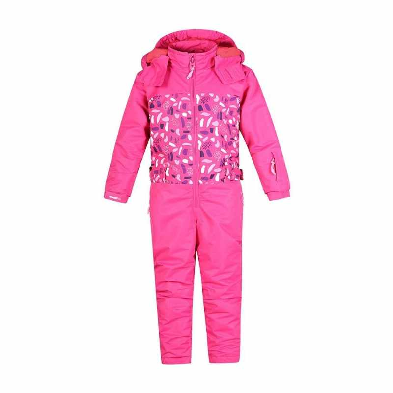 2019 New Winter Girls Boys Jumpsuit Ski Suit Kids Camouflage Printed Outdoor Mountain Snowboading Set Children Sports Conjoined