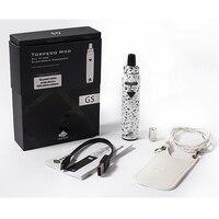 Greensound gs g6自我蒸気を吸うペンキット電子タバコキットオールインワン2200 mahバッテリバッテリの再充電可能で蒸気を吸うポー