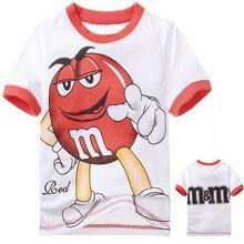 Новинка; высокое качество; детские короткие летние футболки с героями мультфильмов для мальчиков и девочек топы из 100 хлопка; Модная одежда для маленьких мальчиков; цвет красный, желтый