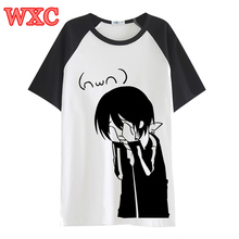 Japanese Anime Noragami T Shirt Harajuku Short Sleeve Cartoon Aragoto Yato T-Shirts Cosplay Unisex Casual Kawaii Tops Tee WXC