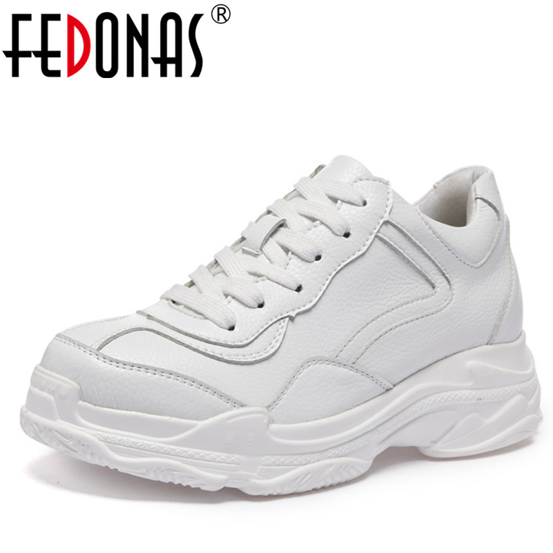 FEDONAS Shoes Woman Sneakers Breathable Casual Shoes High Quality Female Flats Shoes Women Platforms Breathable Sport Shoes цена 2017
