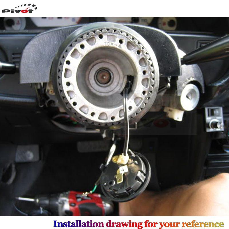 US $1 95 5% OFF T2 Universal Racing Steering Wheel Hub Adapter Boss Kit for  Toyota HUB T 2-in Steering Wheels & Steering Wheel Hubs from Automobiles &