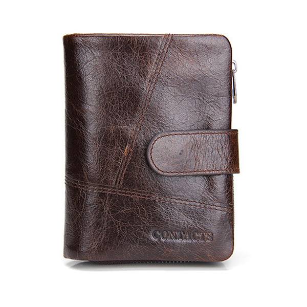Luxury Men Short Wallets Genuine Crazy Horse Cowhide leather wallet Card holder Vintage Male Purse Coin Bag men wallet male cowhide genuine leather purse money clutch card holder coin short crazy horse photo fashion 2017 male wallets