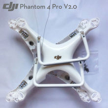 Genuine DJI Phantom 4 Pro V2.0 Part   Body Shell Upper Bottom Cover Landing Gear with Compass for DJI Drone Replacement Parts