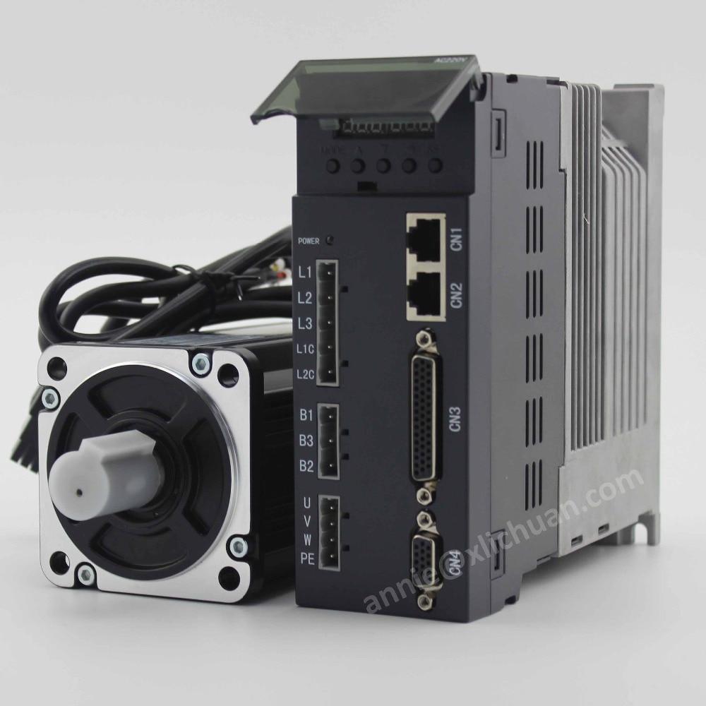 HTB16D2Pebus3KVjSZKbq6xqkFXaH - Lichuan 1kw servo motor 80ST-M04025 4Nm 2500rpm with servo driver kit +Gearbox PLF80 12:1 to 70:1