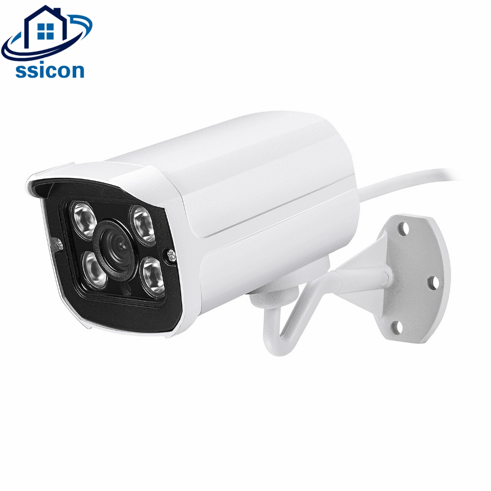 SSICON HD 2MP 4MP AHD Camera Outdoor Security CCTV Video Surveillance IP Camera Security Bullet Network Camera 4 Array Infrared