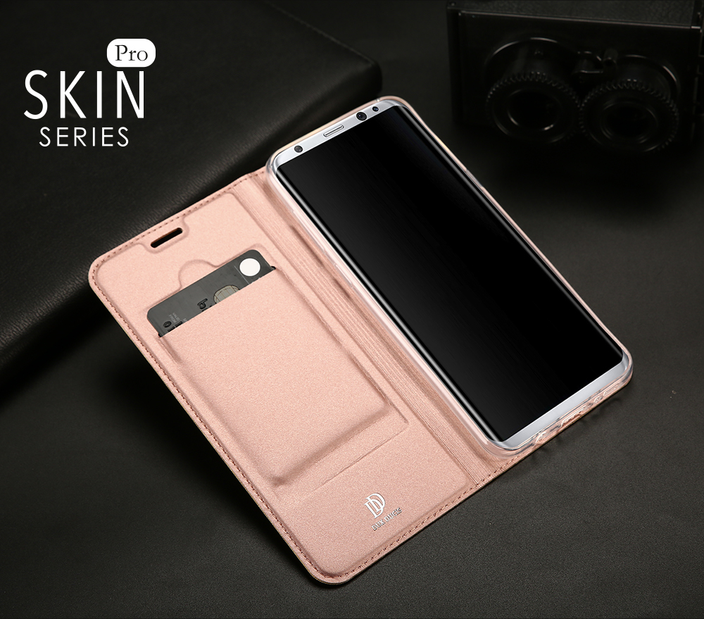 For Samsung Galaxy S8 Case Luxury Magnetic Ultra thin Flip Stand PU Leather Case For Samsung