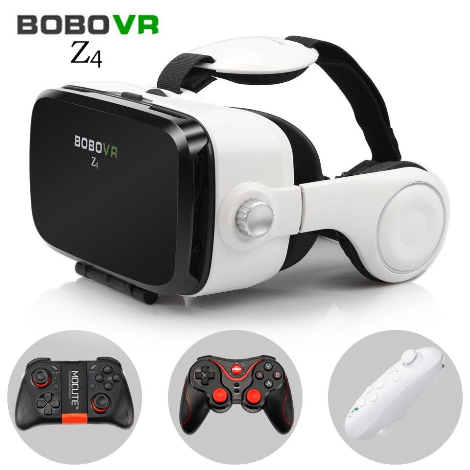 BOBOVR Z4 Réalité Virtuelle lunettes 3D lunettes casque bobo vr Boîte Google carton casque pour 4.3-6.0 pouce smartphones