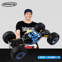 2.4ghz RC Cars Monster Truck 1:16 Bigfoot Double sided Driving Remote Control Deformation Vehicles RC Vehicle Top Level Toys