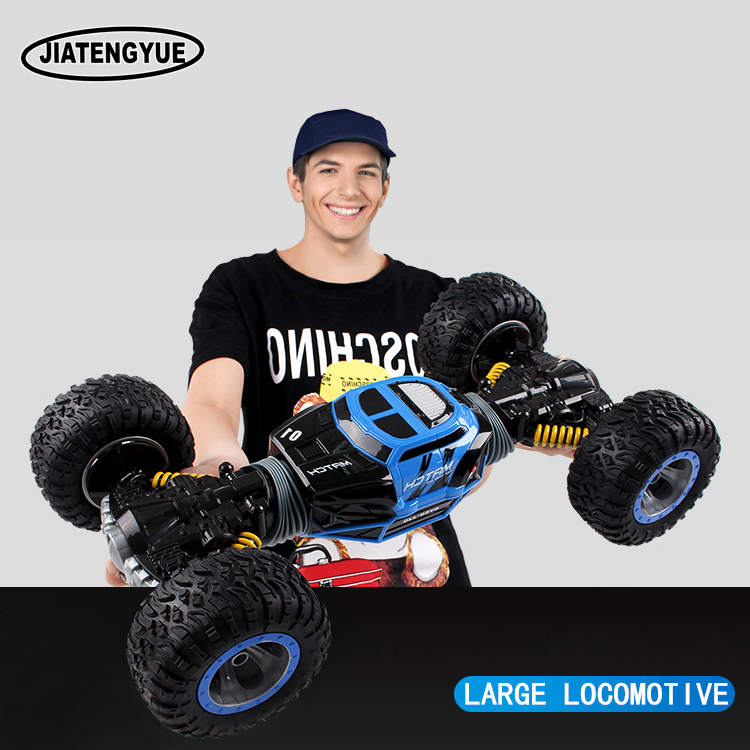 2.4ghz RC Cars Monster Truck 1:16 Bigfoot Double-sided Driving Remote Control Deformation Vehicles RC Vehicle Top Level Toys