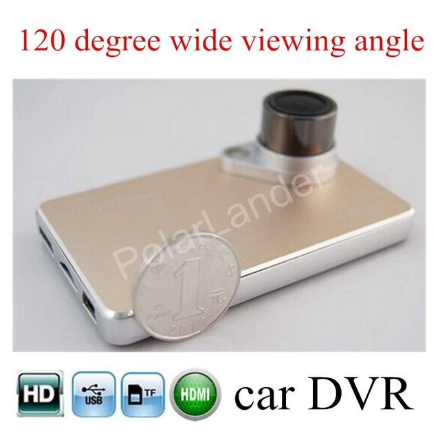 high quality Car DVR Camera HD H2000 video recorder night vision loop recording dash cam 2.7 inch LCD screen car styling