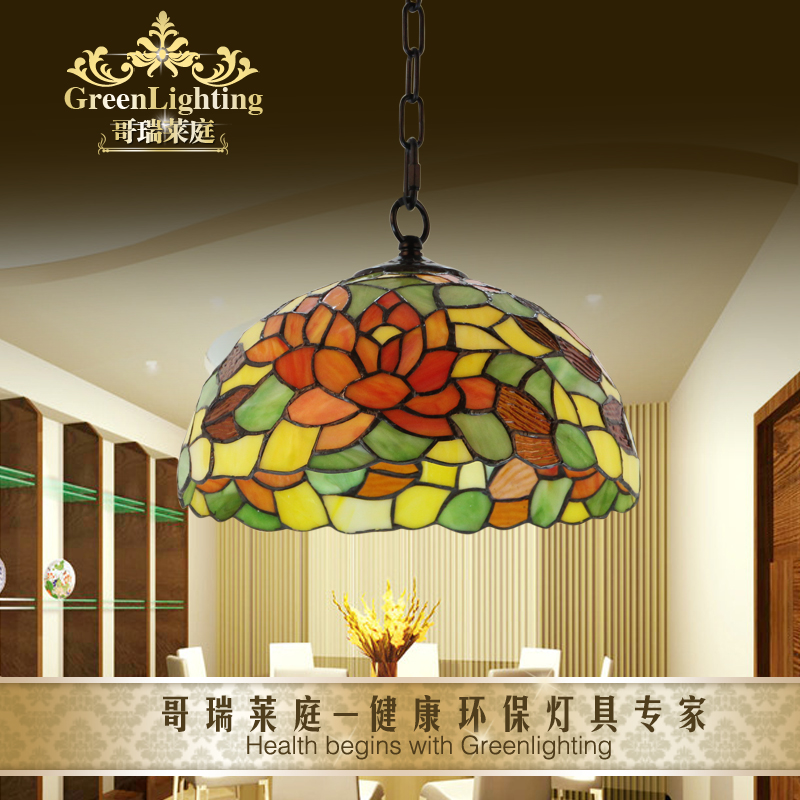 Ems free shiiping newest lighting tiffany pendant light for Tiffany d dining room