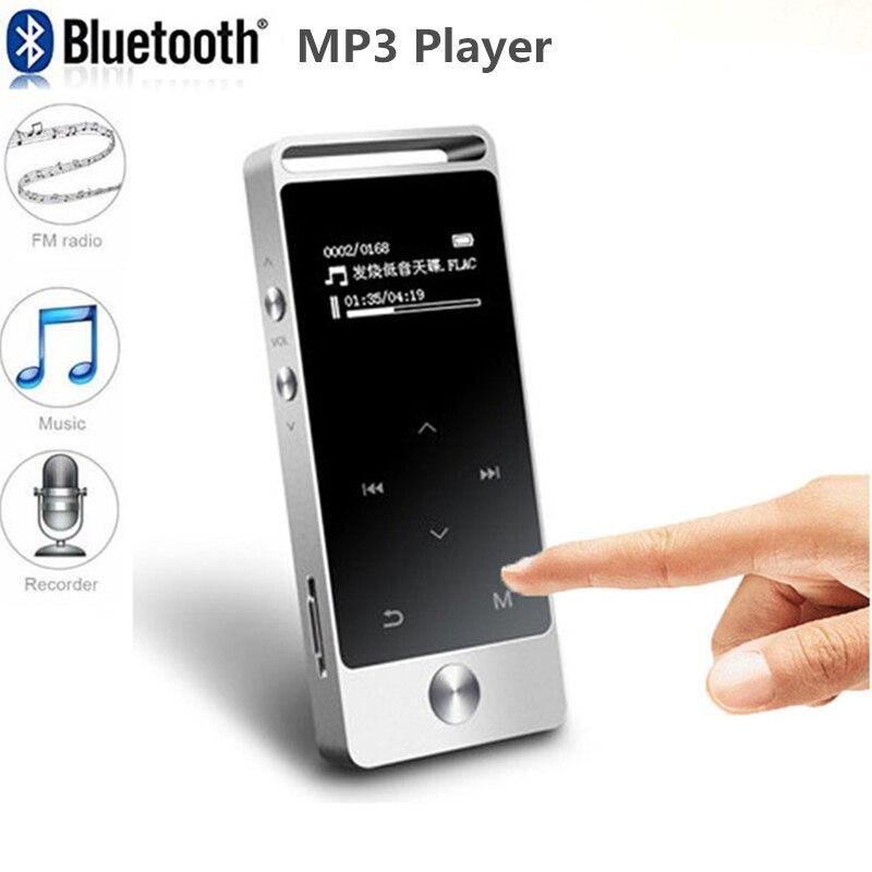 Hots! Mini lecteur MP3 Portable 8 GB écran tactile Hi-Fi lecteur MP3 sans perte de musique avec prise en charge de la Radio FM enregistrement des poches de carte TF