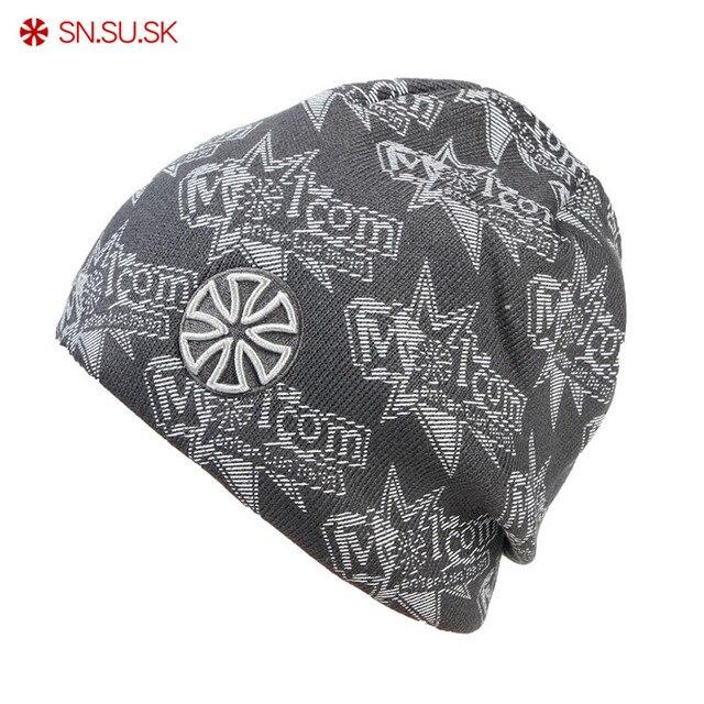 SN. su. sk hombres polar fleece CAP de esquí de invierno sombreros patinaje  gorras 61294ad5f82