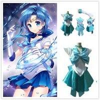 新アニメ美少女戦士セーラームーンセーラーマーキュリーコスプレ衣装女