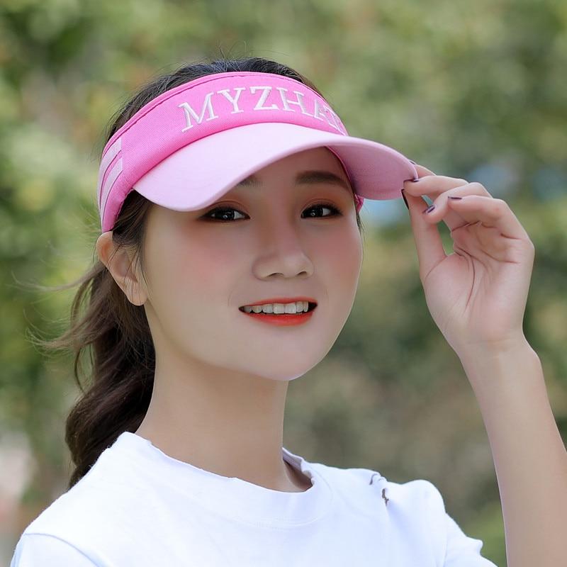Kagenmo летняя Мужская Женская теннисная кепка без короны солнцезащитная Кепка бейсболка с козырьком - Цвет: J