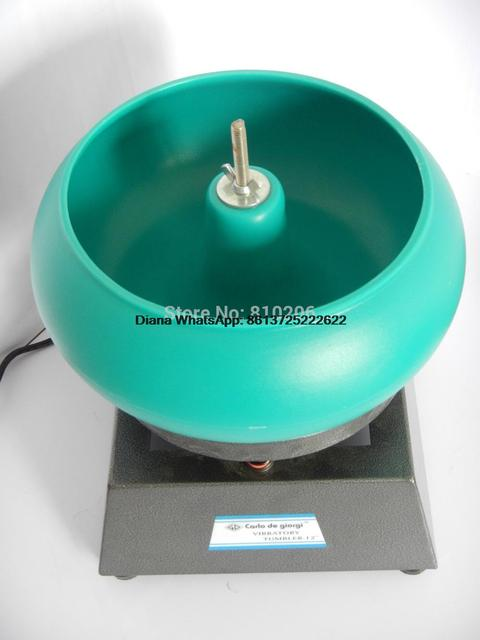 17'' Super Large Vibratory Tumbler Wet Dry Polisher Polishing Machine, Jewelry/Metal Polisher