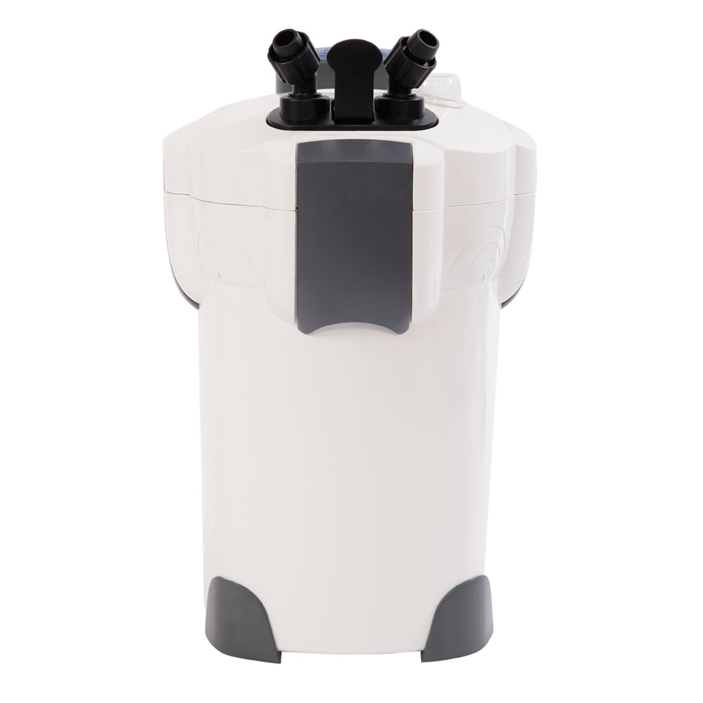 HW 304B 110V 55W 2000L/hr(525GPH) 3 Layer Aquarium Filter with UV Sterilization Lamp US Plug White