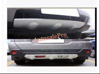 Pu Voor + Achter Bumper Skid Plate Protector Guard Voor Nissan X-Trail X Trail T31 2012 2013