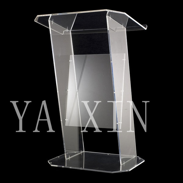 High Soundness Modern Design Cheap Clear Acrylic Lectern