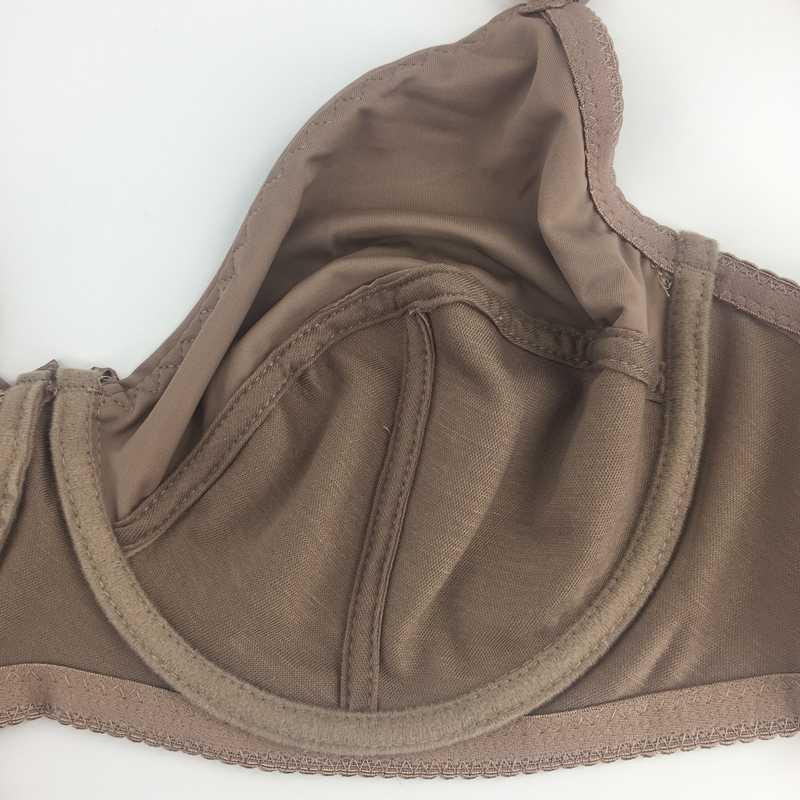 Бюстгальтер PariFairy размера плюс для женщин, женское нижнее белье без подкладки, сексуальное нижнее белье с чашечками D на косточках, полный охват, большой размер, сексуальный топ BH