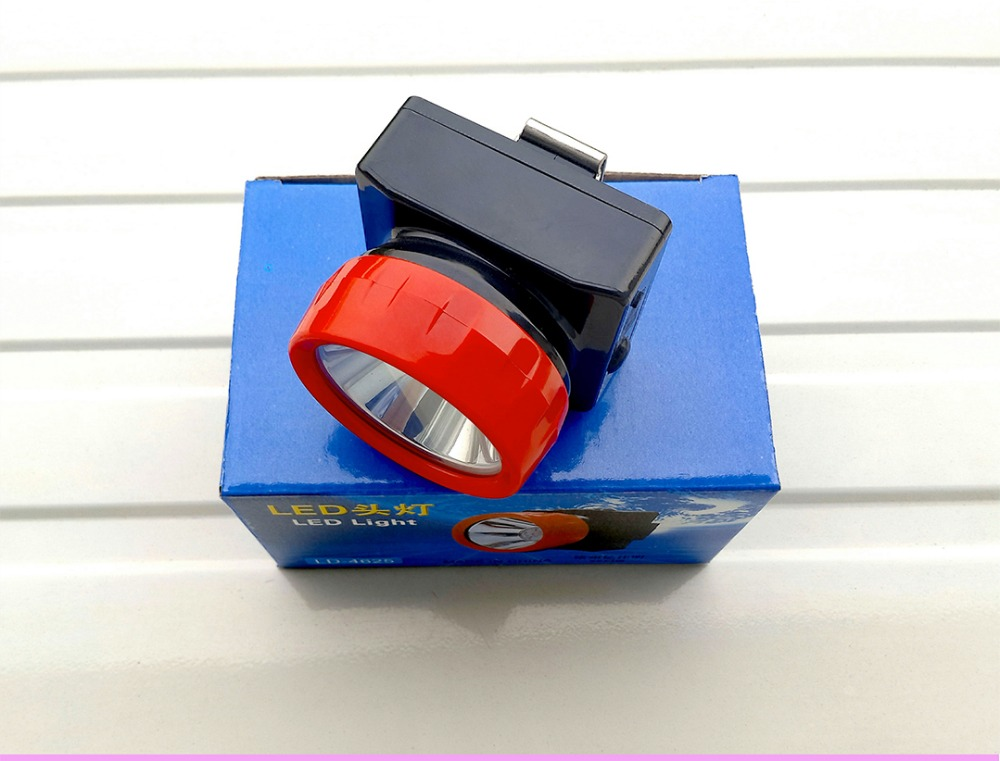 free shipping 60pcs/lot HENGDA LED Light LD-4625 Cordless LED Mine Cap Lamp Mining Cap Light Head Lamp 3w led led 18hours 4500 10000lux usa cree headlamp cordless mining head light free shipping