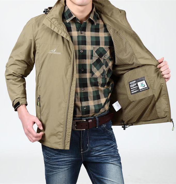 Outdoor Camping Hiking Jackets Military Men's Brand Hunting Clothing Waterproof Jacket Coat Man Hooded Outdoorwear outdoor tactical jackets men camping hunting coat waterproof windbreaker 2016 good quality coats military jacket brand clothing