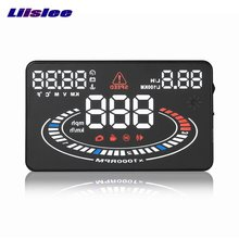 Liislee Car HUD Head Up Display For Alfa Romeo 156 / 159 / 166 / 147 Refkecting Windshield Screen Safe Driving Screen Projector